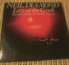 NEIL DIAMOND LOVE AT THE GREEK 2 X VINYL LP 1977 ORIG AUSTRALIAN PRESS SBP234916