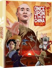 Once Upon a Time in China Trilogy Blu-ray UK BLURAY