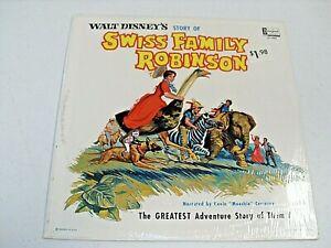 STORY OF SWISS FAMILY ROBINSON / SEALED LP / WALT DISNEY / DISNEYLAND ST-1907