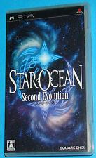Star Ocean - Second Evolution - Sony PSP - JAP Japan