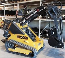 Backhoe Attachment w/Swing,Digs 5',Fits Boxer.Prowler Mini Track Loaders Only