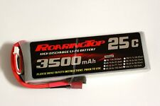 RoaringTop LiPo Battery Pack 25C 3500mAh 4S 14.8V with Deans Plug