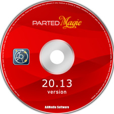 Parted Magic - Disk Partitioning, Data Rescue, Cloning, Erasing CD Software OS