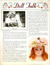 a little Doll Talk from Byron Magazine ~ February 1985