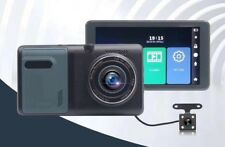 Touch Screen 5.5'' Dash Cam Car DVR Rearview Mirror Camera Recorder Real HD DVR