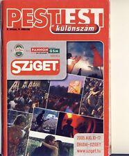 SZIGET FESTIVAL 2005 - FESTIVAL GUIDE - SEAN PAUL - FRANZ FERDIDAND - KORN -