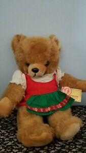 Vintage Hermann Original honey colored 14 inch plush Teddy Bear 55/35/1