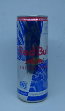 empty Red Bull Energy Drink can - Ltd 2018 Polish Sports Ed - Neymar Jr; 250 ml