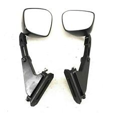 2005 2006 KAWASAKI NINJA ZX6R 636 AFTERMARKET REAR VIEW MIRROR SET PAIR MIRRORS