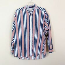 Men's Norm Thompson • Striped Button Down Shirt Large