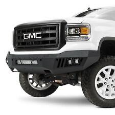For GMC Sierra 1500 14-15 Torxe X1 Series Full Width Black Front HD Bumper
