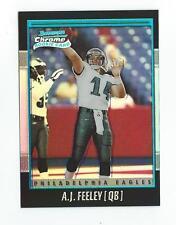 2001 Bowman Chrome #115 A.J. Feeley RC Rookie Eagles /1999
