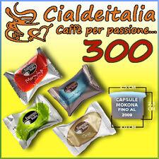 300 capsule caffè ESPRESSO ITALIA/GIMOKA - anche per MOKONA e TAZZONA leggi bene