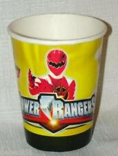 NEW ~POWER RANGERS  8 - PAPER CUPS    PARTY SUPPLIES
