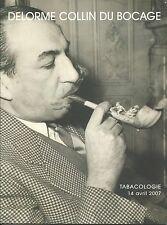 RARE - DELORME Paris Tobacco Accessories Jars Pipes Auction Catalog 2007