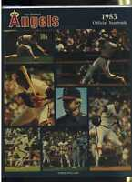 1983 California Angels Yearbook  MBX39