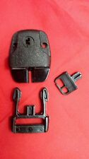 1 Key Lockable Safety Buckle Latch Pool Spa Lock Hot Tub Cover Boat Backpack Bag