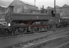 PHOTO  GWR 9790 IN THE WORKS YARD AT SWINDON 3/11/55