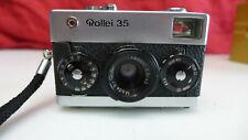 Rollei 35 chrom Tessar 3,5/40mm Sucherkamera  intern.shipping