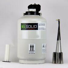 10 L Liquid Nitrogen Container Cryogenic Tank Storage Dewar Free Shipping USPS