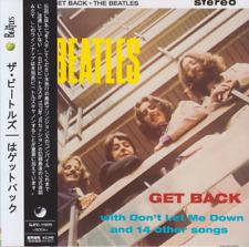 BEATLES GET BACK CD Mini LP W/OBI + bonus tracks Harrison Lennon McCartney [NEW]