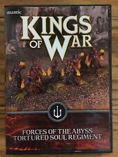 Kings Of War, 2nd Edition: Forces Of The Abyss Tortured Soul Regiment (Damaged)