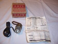1937 - 1964 International Dodge Chevy Truck GM Chry Plym Pont Block Heater NORS