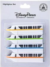 Disney Parks Monorail Highlighters Set Of 4 New