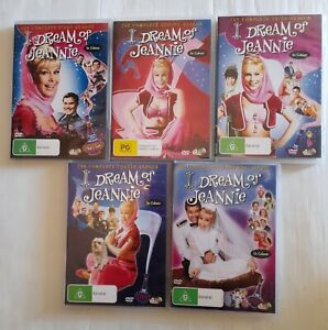 I Dream of Jeannie The Complete Series Seasons 1, 2, 3, 4 & 5 Comedy 20 disc set
