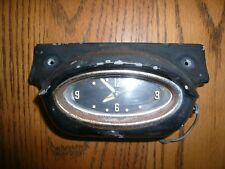 1957 Oldsmobile 88 98 Dash Clock & Dash Housing - Black