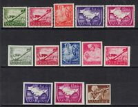 Germany India Selection 1943 WWII Fascism War Azad Hind Legion Set MNH