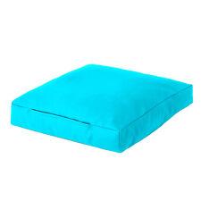 Turquoise Faux Leather Bean Bag Square Floor Cushion Seat Beanbag Large Slab
