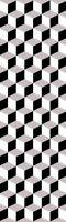 PREMIUM 3D Hand Carved Modern 2x7 2x8 Runner Rug Contemporary 1099 Black Grey Gr