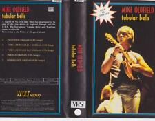 MIKE OLDFIELD TUBULAR BELLS LIVE IN CONCERT A RARE FIND  ~VHS VIDEO PAL