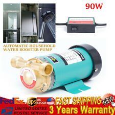 3/4'' 90W Automatic Household Water Booster Pump Solar Heaters 110V flow switch