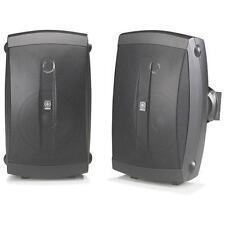 Yamaha NS-AW150 Pair Black Outdoor Speakers All Weather 120 Watts BNIB