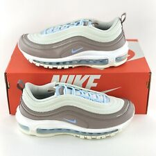 Nike Air Max 97 Spruce Aura Women's Size 8 Shoes Grey White Blue 921733 018