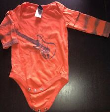 Infant 9mos Charlie Rocket One Piece Long Sleeve