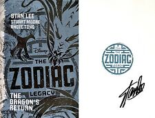 Stan Lee~SIGNED~The Zodiac Legacy: Dragon's Return~1st/1st+Photos!
