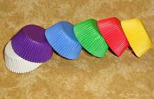 Rainbow Brights,150 Ct.Cupcake Bake Cups,Wilton,415-1623,Multi-Color