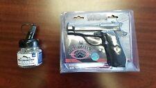 BRAND NEW Blackwater M84 Full Metal 4.5mm Co2 Air Gun Pistol Kit. 1500ct BBs