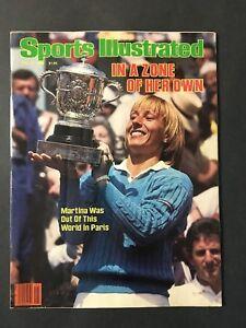 Sports Illustrated Magazine June 18 1984 Martina Navratilova Wins French Open NL