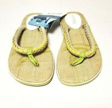 "Sperry Top Sider Flip Flops ""Get Wet"" Sandals Outdoor Beach Water Shoe size 8"