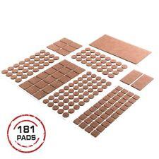 Heavy Duty Self Adhesive Furniture Pads-Brown.Your Best Wood Floor Protectors.