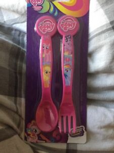 My Little Pony First Cutlery Set 2 Piece Plastic Pink