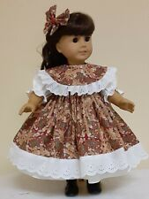 DOLL CLOTHES AND ACCESSORIES FITS AMERICAN GIRL DOLL'S. GINGER BREAD QUEEN.