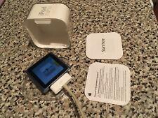 Apple iPod Nano con pantalla táctil 6th generación 8GB-Azul