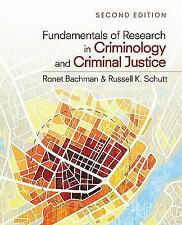 Fundamentals of Research in Criminology and Criminal Justice NEW