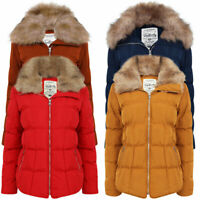 Tokyo Laundry Women's Bertie Quilted Hooded Coat Puffer Jacket Padded Puffa Warm