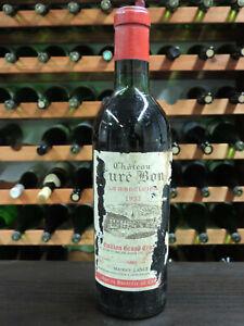 1937 Chateau Cure Bon La Madeleine Grand Cru Classe St. Emilion Bordeaux AOC